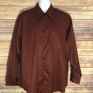 Kenneth Cole Reaction XL Button Up Dress Shirt